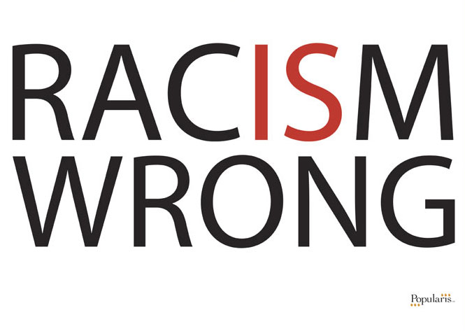 Racism-wrong
