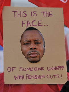 Pension cuts UK