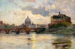 St-peters-rome-from-the-tiber