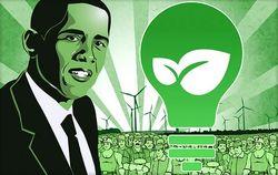 Green-obama