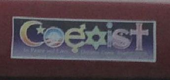 Bumper-Sticker-Eugene-OR-Coexist