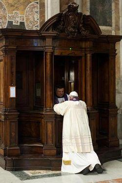 PopeConfessing