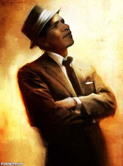 Obama-as-Sinatra