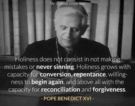 PopeBenedictXVIOnHoliness
