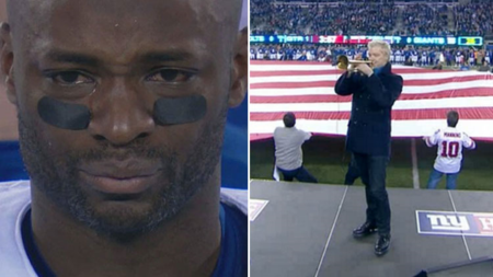 Chris-botti-reggie-wayne-national-anthem-monday-night-football