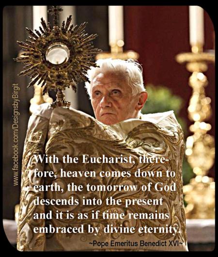 BXVI Eucharist