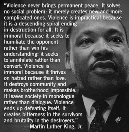 Mlk-nonviolence