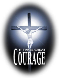 Courage-cross