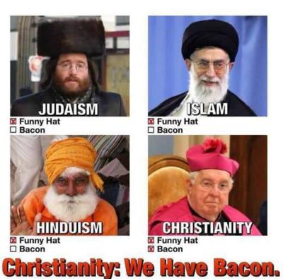ChristianityHasBacon