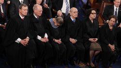 JusticeGinsburgSleeping